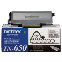 Brother TN650 - Toner cartridge - High Yield - 1 - 8000 pages