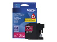 Brother LC105M - Super High Yield - magenta - original - ink