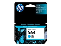 HP 564 - Print cartridge - 1 x cyan - 300 pages