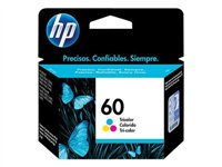 HP 60 - CC643WL - print cartridge - color (cyan, magenta, yellow