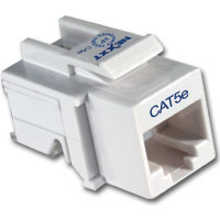 KEYSTONE JACK CAT5E TOOLLESS