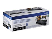 Brother TN336BK - High Yield - black - original - toner cartridg
