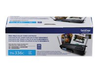 Brother TN336C - High Yield - cyan - original - toner cartridge