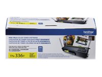 Brother TN336Y - High Yield - yellow - original - toner cartridg